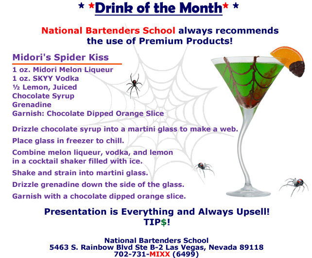 Drink of the month